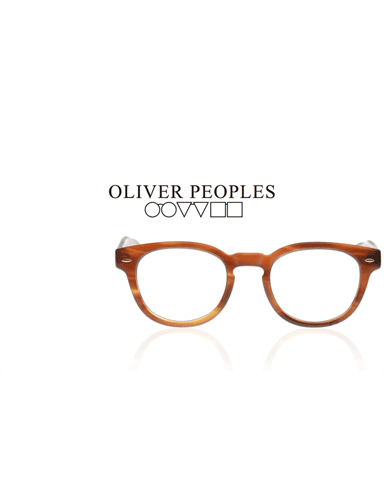 Oliver Peoples Brille mit Logo